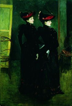 The Savile Clark Girls - Jacques-Emile Blanche