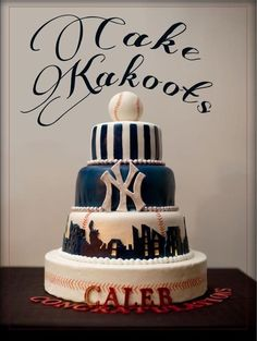 Yankees Birthday Cakes For Kyle