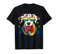 Pride Shirts, Gay Pride, Rainbow Dog, Branded T Shirts, Lgbt, Fashion Brands, Dog Lovers, Usa, Amazon