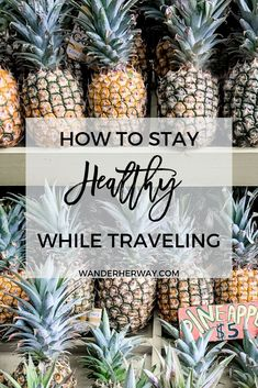 How to Stay Healthy While Traveling It can be difficult to stay healthy when you're on vacation. Here are the best ways of how to stay healthy while traveling! Travel Advice, Travel Guides, Travel Tips, Budget Travel, Travel Hacks, Travel Money, Travel Gadgets, Hotels, Travel Workout