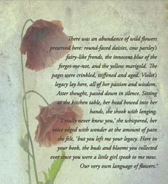The back cover of The Flower Book