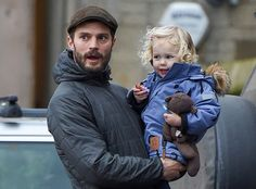Jamie Dornan :: New Pictures of Jamie and His Family in Cotswold (December 19 2015) ::  OMG SHE IS SO FREAKING CUTE!
