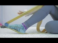 Ballet Foot Stretching Exercises With Resistance Bands