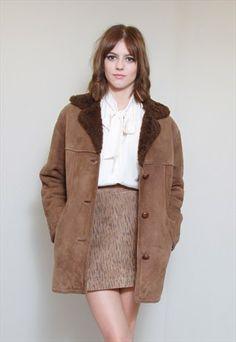 New Look Bonded Faux Sheepskin Coat, stærð: 10   Wishlist ...