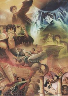 All 7 #HarryPotter books meshed together. #HarryPotterForever