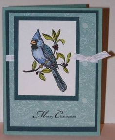 Cardinal Christmas by laura0202 - Cards and Paper Crafts at Splitcoaststampers