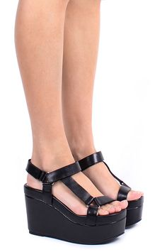 Jeffrey Campbell Shoes POTENZA Platforms in