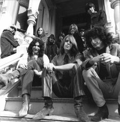 Grateful Dead 1967. Have my picture on this stoop! 710 Ashbury SF Ca