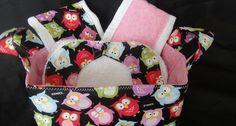 Baby Basket Owl Gift Set #pink #shower #girl #thecraftstar #bumblebaby $40.00