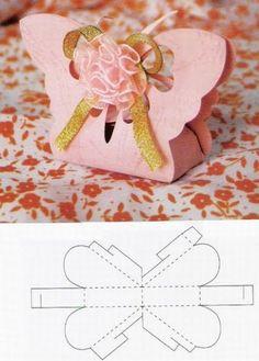 Lovely little gift box. Template on site. http://www.auksarankes.lt/straipsnis/pasidaryk-pati/dovanu-dezutes