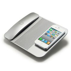 Hype Cordless Bluetooth Handset, cell phone charger and speaker.  Can also be purchased at Walgreens.