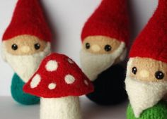 I'm going to be styling a Golden Birthday...23 on the 23rd! We decided on a retro...vintage...gnome party! I will be making lil' felt gnomes!