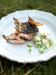 BBQ Salmon | Fish Recipes | Jamie Oliver Recipes