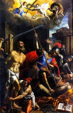 Giovanni Francesco Guerrieri, The Martyrdom of Saint Jude and Saint Simon, 1649