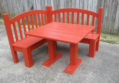 DIY Kids Corner Bench - 12 Cool DIY Furniture Projects | DIY and Crafts