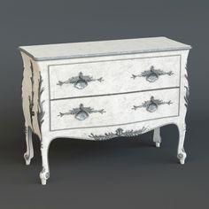 Silvano Griffoni chest of drawers  #models #3dmodeling #modeling #turbosquid #3dartist #viktor_log #design #interior