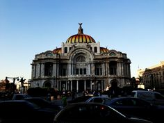 Palacio de Bellas Artes. Mexico DF.