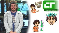 Crunch Report | Using Bitmoji in Snapchat