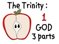Great apple unit, using apples to teach about the trinity!