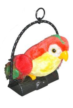 hanging parrot gift talk back child gift parrot  #Unbranded