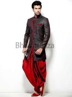 Antique Patiala Sherwani