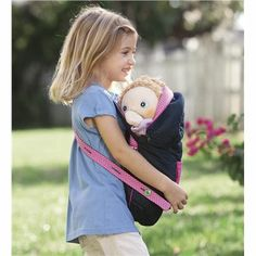 Rubens Barn%26#174; Four-in-One Carrycot Doll Carrier. unsure what size doll this carries.