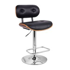 $139.99- Adeco Vittangi Modern Bar Stool with Back