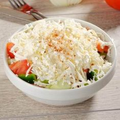 Cabbage, Bacon, Grains, Salads, Food And Drink, Vegetables, Foods, Fitness, Essen