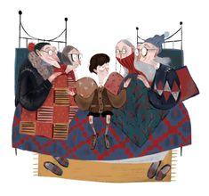 London Illustration, Children's Book Illustration, Character Illustration, Julia Sarda, Tableaux D'inspiration, Guache, Roald Dahl, Chocolate Factory, Illustrations And Posters