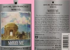 Wine Review: Save Me San Francisco Marry Me Rosé - I Love Wine