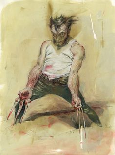 Wolverine (Logan) by Kent Williams