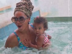 Beyonce And BlueIvy  | Marie Claire