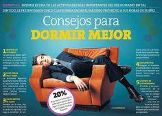Aquí van otros 5 consejos para un mejor descanso con #mejordescanso...