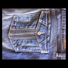 Paige low rise jeans with great pockets Paige jeans worn no more than 5 times in great condition Paige Jeans Jeans Boot Cut