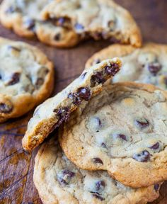 New York Times Chocolate Chip Cookies from Jacques Torres Chcolate Chip Cookies, Best Chocolate Chip Cookie, Chocolate Chip Recipes, Chocolate Chips, Baking Recipes, Cookie Recipes, Dessert Recipes, Cookies Without Brown Sugar, Cookie Time