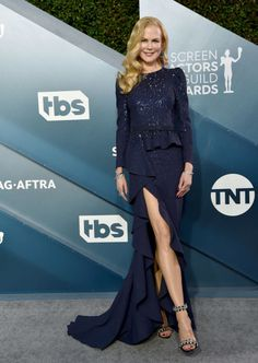From Jennifer Aniston in Christian Dior to Margot Robbie in Chanel, here are the best looks from the Sag Awards red carpet Read more on Grazia. Jennifer Garner, Jennifer Aniston, Jennifer Lopez, Margot Robbie, Charlize Theron, Nicole Kidman, Anya Taylor Joy, Renee Zellweger, Dior Haute Couture