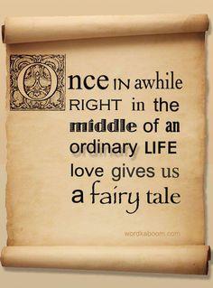Fairytales do come true!