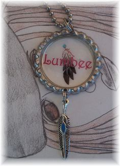 Necklace Pendant  Lumbee Indian Native by BrokenMessDesigns, $4.99