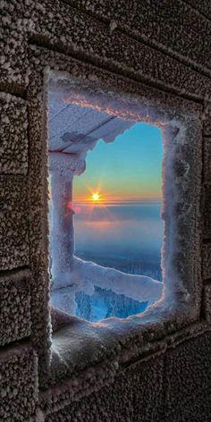 Frosty Sunrise - Lapland, Finland by Julius Rintamäki