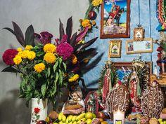 Ofrenda, San Miguel de Valle, Day of the Dead 2015