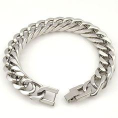 Stainless Steel Bracelet & Bangle for Men