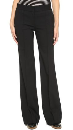 DKNY Fitted Wide Leg Pants