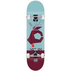 Alien Workshop Skateboard Complete NOT OK 8.125' RAW Assembled, Purple