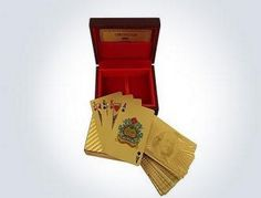 Google Offers - $15 for 24K gold-plated playing cards ($75)