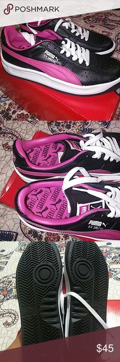 Brand New GV Special Hot Pink Puma Never used.  The shoe size is a 4 but i wear a 6 and they fit? These were mens shoes special GV Puma Shoes Athletic Shoes