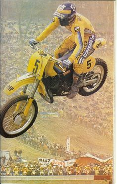 Jean Jacques Bruno - motocross 500cc - french rider