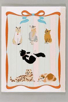 Kintaro Ishikawa, Cats' my Pet on ArtStack #kintaro-ishikawa #art