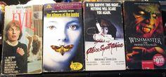 Lot 5 VHS Halloween Horror Movies, See No Evil, Wishmaster, Dracula 2000 +