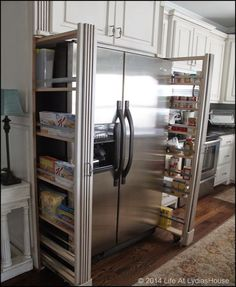 p/undercounter-refrigerator-fridge-art-the-glowing-fridge-college-coolers-kitchen-pantry-cabi - The world's most private search engine Kitchen Pantry Design, Kitchen Pantry Cabinets, Kitchen Redo, Kitchen Storage, Storage Spaces, Kitchen Remodel, Kitchen Ideas, Storage Shelves, Kitchen Counters