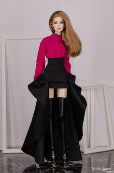 Fashion Royalty Dolls, Fashion Dolls, Fashion Show, Fashion Dresses, Barbie Gowns, Barbie Dress, Barbie Clothes Patterns, Doll Clothes, Barbie Top